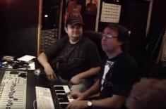 Запись альбома Призови Христа в Sherrett Studio (2010)